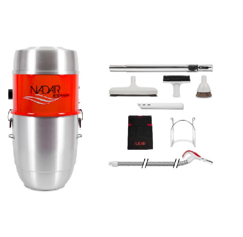aspirateur centralisée nadair ensemble 600-22 TRO-01