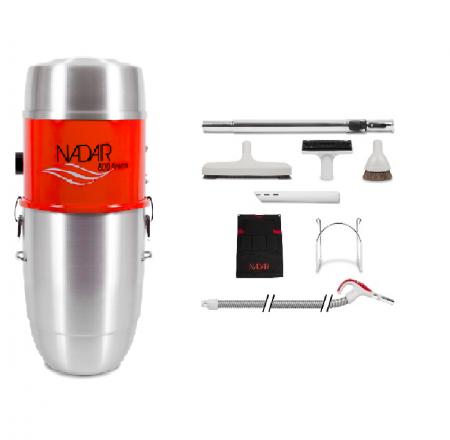 aspirateur centralisée nadair ensemble 600-32 TRO