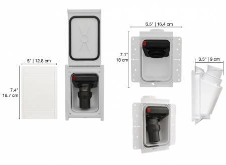 aspirateur dans les murs nadair retraflex kit de montage
