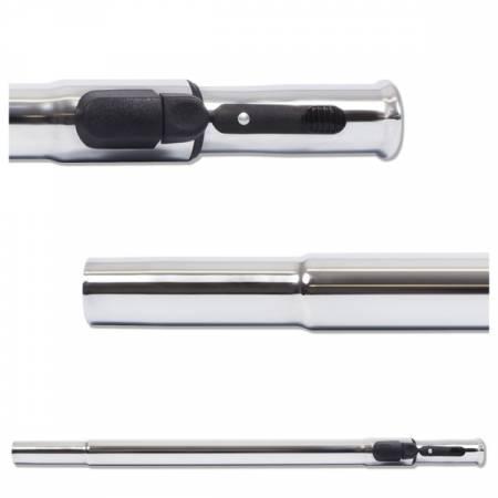 Canne telescopique reglable a bouton LOCK pour aspirateur centralisé