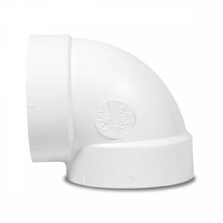 Coude 90° Court F/F pour aspirateur centralisé