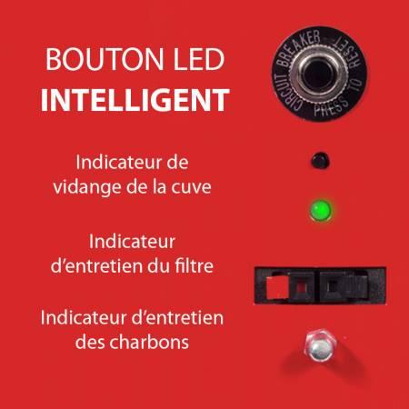 Bouton LED intelligent d'aspirateur centralisé NADAIR