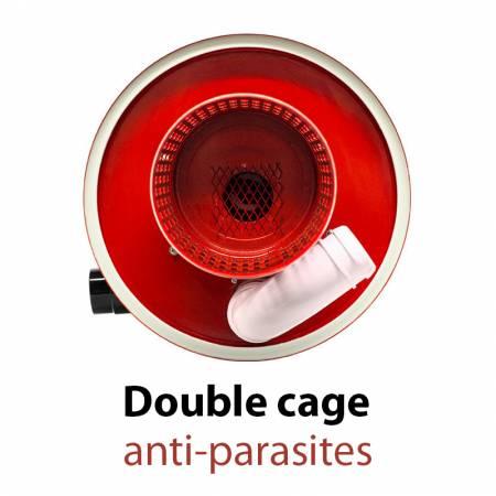 Double cage anti-parasites