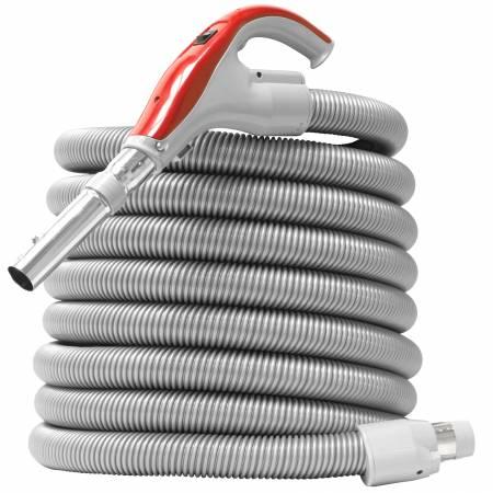 Flexible aspirateur centralisé NADAIR ON/OFF 360° à bouton LOCK