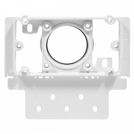 Contre-prise carré pour aspirateur centralisé