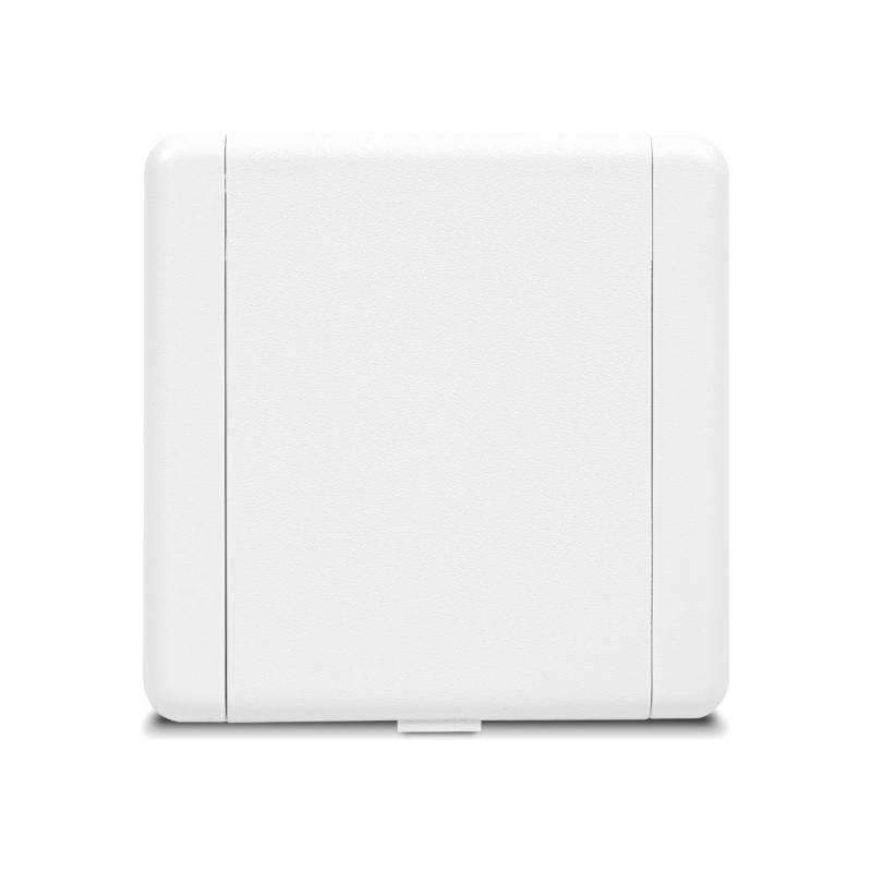 Prise carré blanche pour aspirateur centralisé