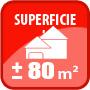 Superficie plus ou moins 80m²