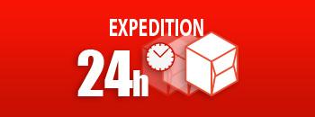 Éxpédition rapide 24h